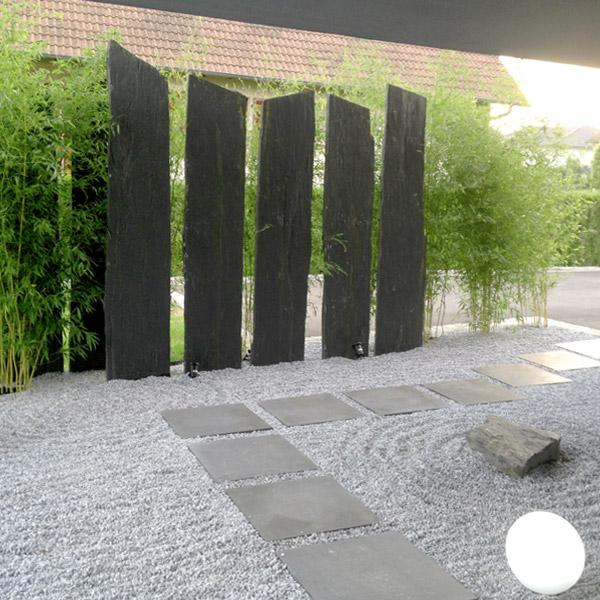 Quantum paysage am nagement paysager granit et marbre for Pierre pour escalier exterieur